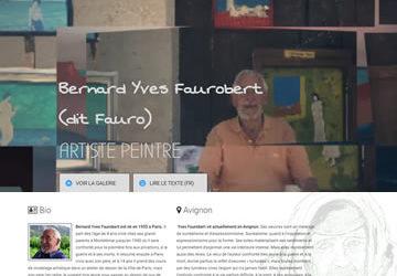 FAURO, ARTISTE-PEINTRE