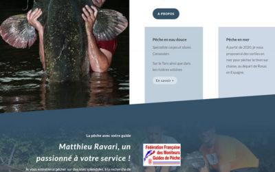 Matthieu Ravari, guide de pêche