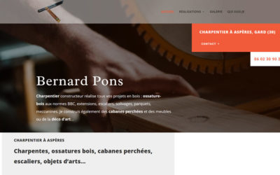 Bernard Pons, charpentier