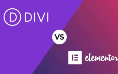 Elementor ou DIVI Builder ?