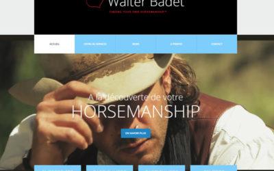 Walter Badet, horseman