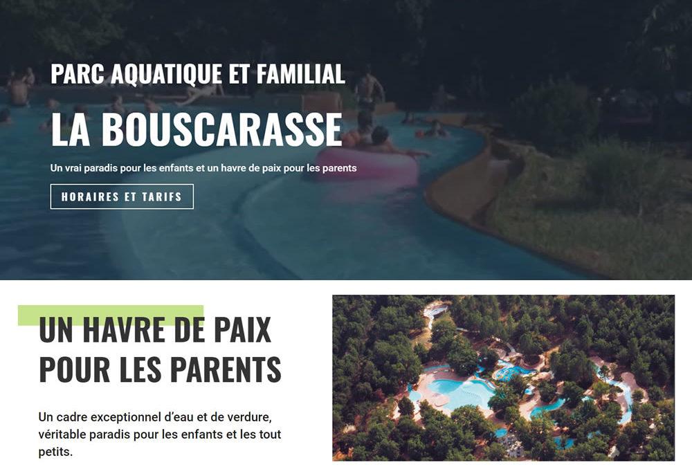 La Bouscarasse, parc aquatique et familial