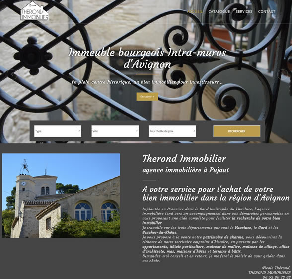 THEROND IMMOBILIER