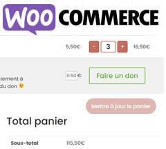 """""""Arrondir à l'euro supérieur"""" dans le panier de WooCommerce"""